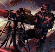 Storm commando gunner