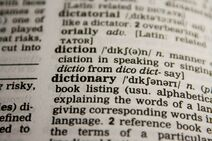 Black-and-white-dictionary