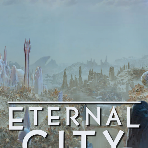 In-game title card featuring the City