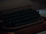 August's typewriter