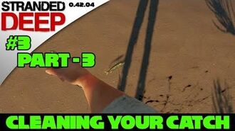 Stranded Deep Tutorial - Fishing Rod P3 - Cooking what you catch