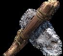 Crude axe