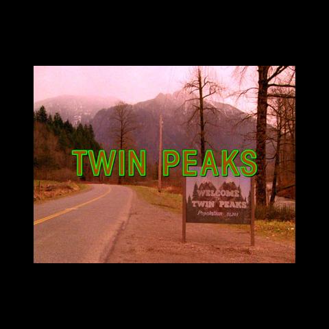 """Logo von """"Twin Peaks"""""""