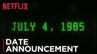 Stranger Things Season 3 Date Announcement HD Netflix
