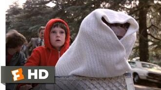 Ride in the Sky - E.T. The Extra-Terrestrial (9 10) Movie CLIP (1982) HD