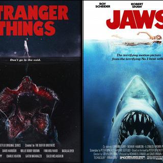 Rechts die Vorlage: Jaws