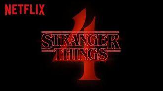 Stranger Things 4 Offizielle Ankündigung Netflix