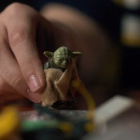 Mikes Yoda-Figur