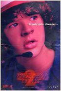 StrangerThings Poster Dustin
