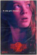 StrangerThings Poster Max