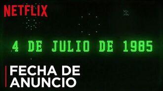 Stranger Things Temporada 3 Anuncio de fecha Netflix