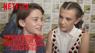 Stranger Things Rewatch Behind the Scenes Will Seeing Himself Netflix