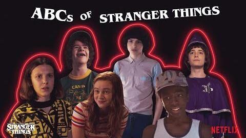 ABCs of Stranger Things 3