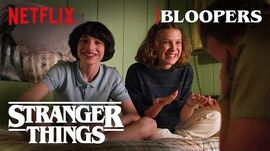 Stranger Things Season 3 Bloopers Netflix