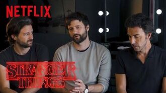 Stranger Things Rewatch Behind the Scenes Duffer Brothers on Christmas Lights Netflix