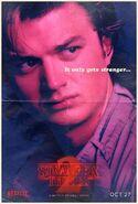 StrangerThings Poster Steve