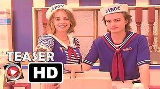 Stranger Things Temporada 3 Serie de Netflix Teaser Trailer Oficial Subtitulado Español