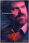 StrangerThings Poster Hopper