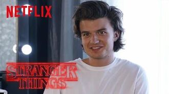 Stranger Things Rewatch Behind the Scenes Christmas Sweater Netflix