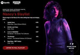 Nancy Playlist Spotify