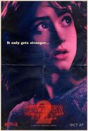 StrangerThings Poster Nancy