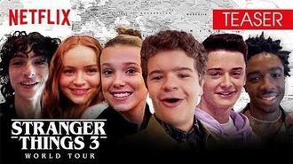 Stranger Things 3 World Tour Teaser