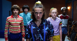 S03-Will, Mike, Eleven, Max and Lucas