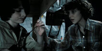 Eleven tries to reach out Mike on the 352nd day through the Void but fails