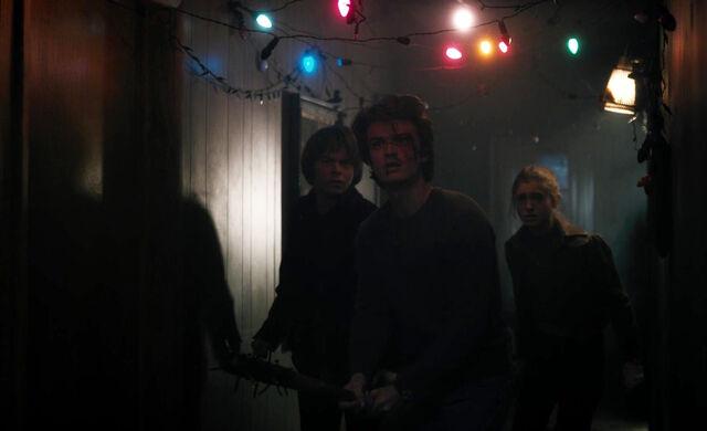 File:Stranger Things 1x08 – Jonathan, Steve and Nancy after monster.jpg