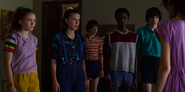 S03E05-Max, Eleven, Will, Lucas, Mike and Nancy