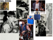 ST1 Costume Mood Board – Will Byers