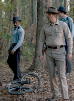 Vanishing of Will Byers - Will's bike is found