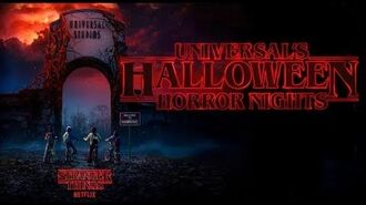 Netflix's Stranger Things announced for Halloween Horror Nights 2018