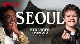 Stranger Things 3 World Tour Seoul Episode 2