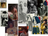 ST1 Costume Mood Board – Dustin
