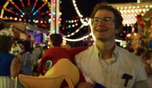 Alexei at the Fun Fair