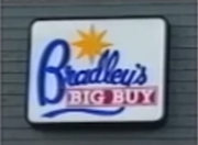 Bradleys Big Buy sign