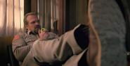 Hopper listening to Murray
