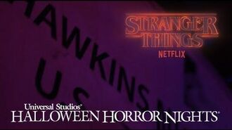 First Look at Stranger Things at Halloween Horror Nights 2018