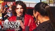 Finn Wolfhard Stranger Things 3 Premiere Netflix