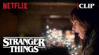 Joyce Christmas Lights Scene (Winona Ryder) Stranger Things Netflix