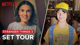 Stranger Things 3 Cast Give You An All Access Behind the Scenes Tour Netflix