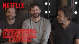 Stranger Things Rewatch Behind the Scenes Duffer Brother Interview Netflix