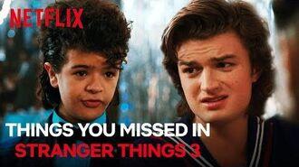 Things You Missed In Stranger Things Season 3 Netflix