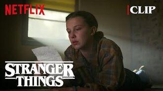 Hopper's Letter Stranger Things 3 Netflix