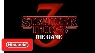 Stranger Things 3 The Game - Gameplay Trailer - Nintendo Switch