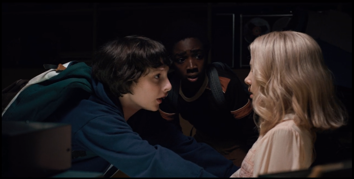 Image Ep4 Mike And Eleven 2 Png Stranger Things Wiki