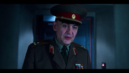 Gen Ozerov asking steve a question