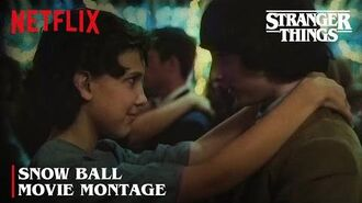 The Snow Ball Stranger Things Netflix