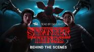 Dead by Daylight Stranger Things Behind the Scenes